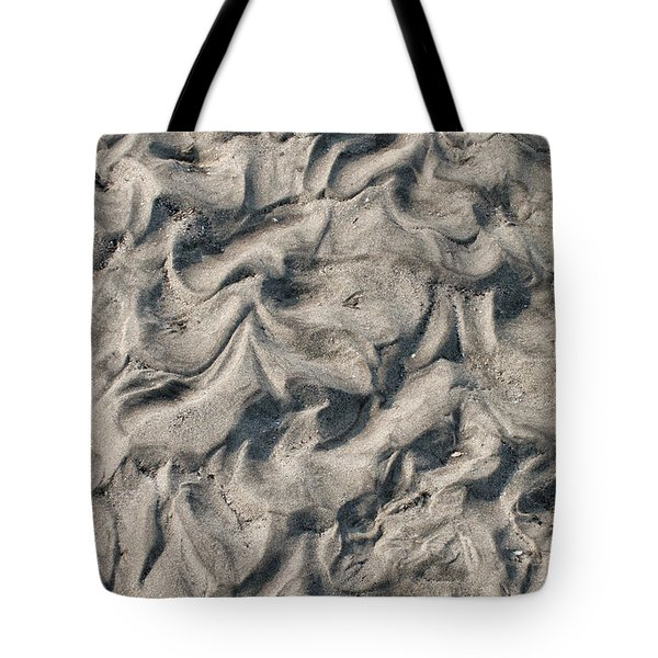 Patterns In Sand 4 Tote Bag