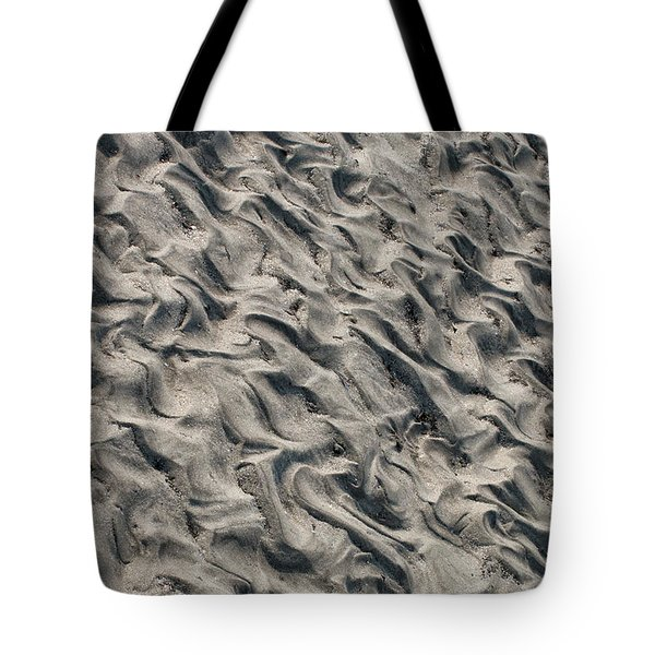 Patterns In Sand 5 Tote Bag