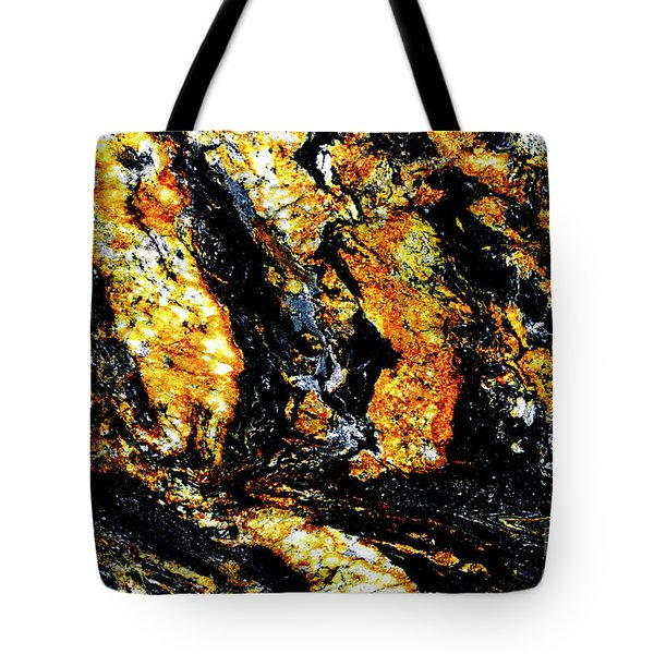 Tote Bag featuring the photograph Patterns In Stone - 185 by Paul W Faust - Impressions of Light