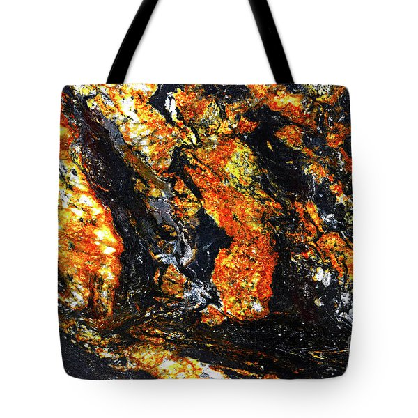 Tote Bag featuring the photograph Patterns In Stone - 186 by Paul W Faust - Impressions of Light