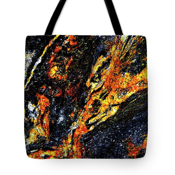 Tote Bag featuring the photograph Patterns In Stone - 187 by Paul W Faust - Impressions of Light