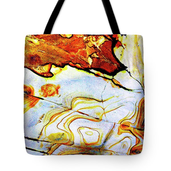 Tote Bag featuring the photograph Patterns In Stone - 201 by Paul W Faust - Impressions of Light