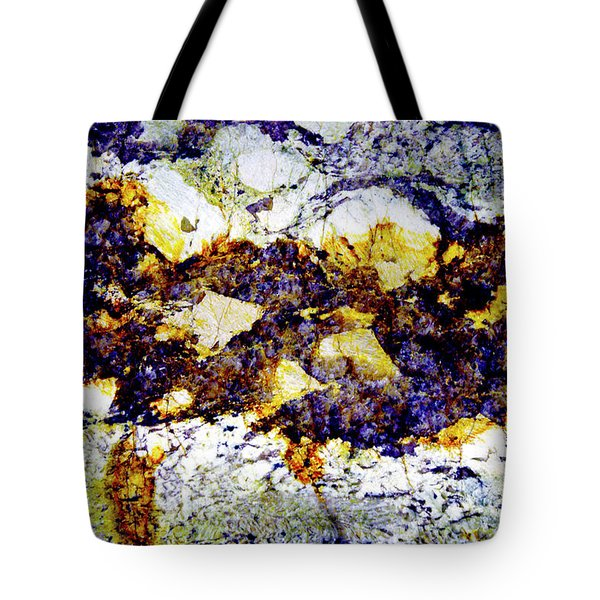 Tote Bag featuring the photograph Patterns In Stone - 212 by Paul W Faust - Impressions of Light
