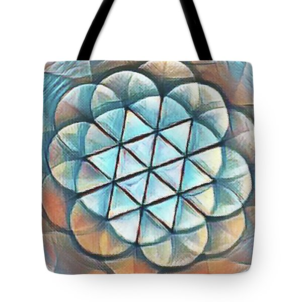 Patterns Of Life Tote Bag