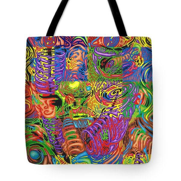 Patterns Of Personality Tote Bag