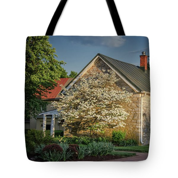 Patterns Of Shadow And Light Tote Bag by Lois Bryan