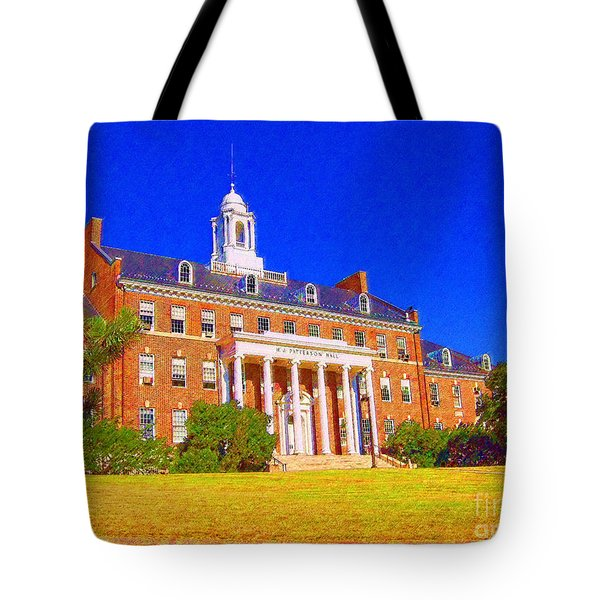 Patterson Hall  Tote Bag