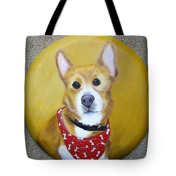 Patti's Grand-dog Tote Bag