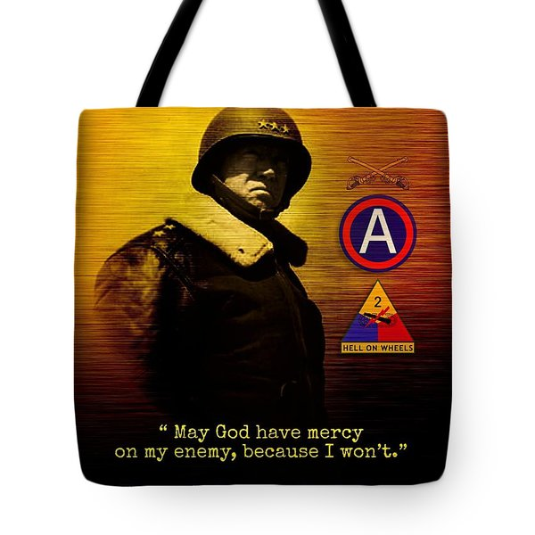 Patton Tribute Tote Bag