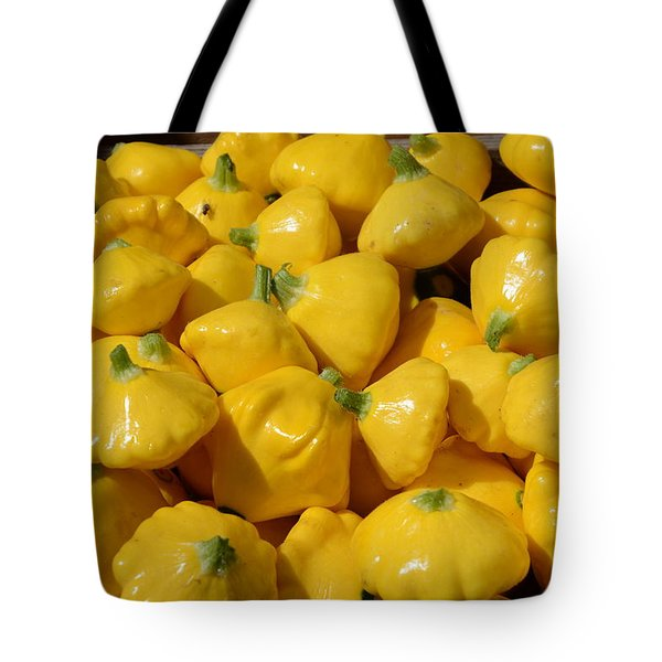 Patty Pan Squash Tote Bag