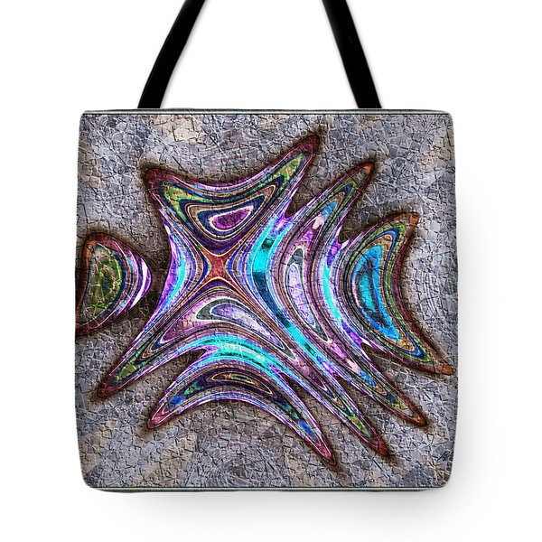 Paua Medallion Tote Bag