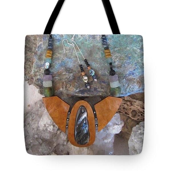 Paua Shell Ff27 Tote Bag by Barbara Prestridge