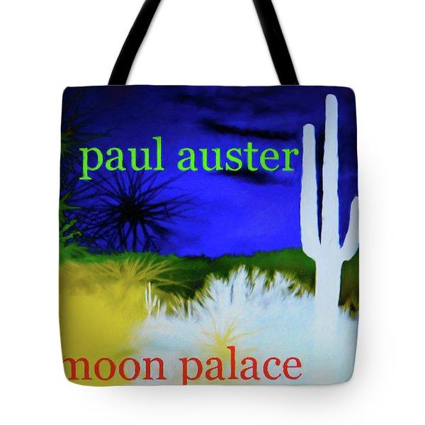 Paul Auster Poster Moon Palace Tote Bag