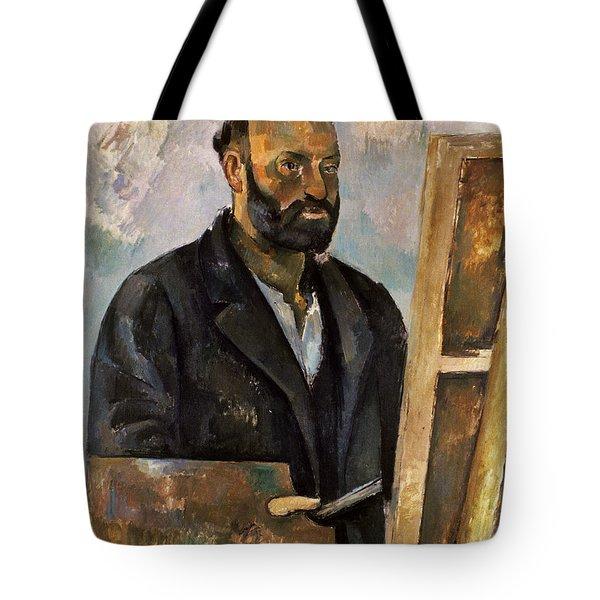 Paul Cezanne (1839-1906) Tote Bag by Granger
