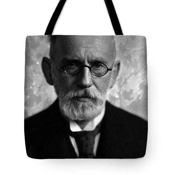 Paul Ehrlich, German Immunologist Tote Bag by Science Source