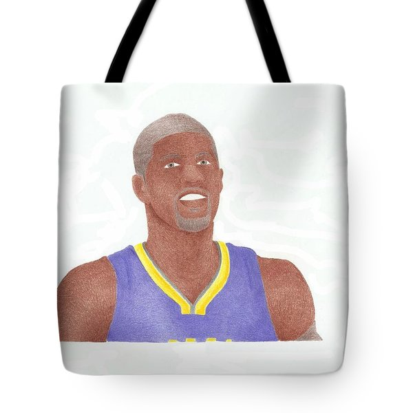 Paul George Tote Bag by Toni Jaso