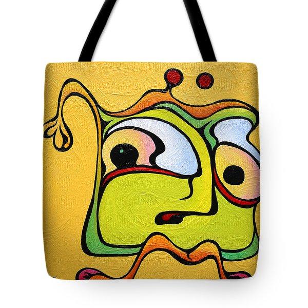 Paul My Finger Tote Bag