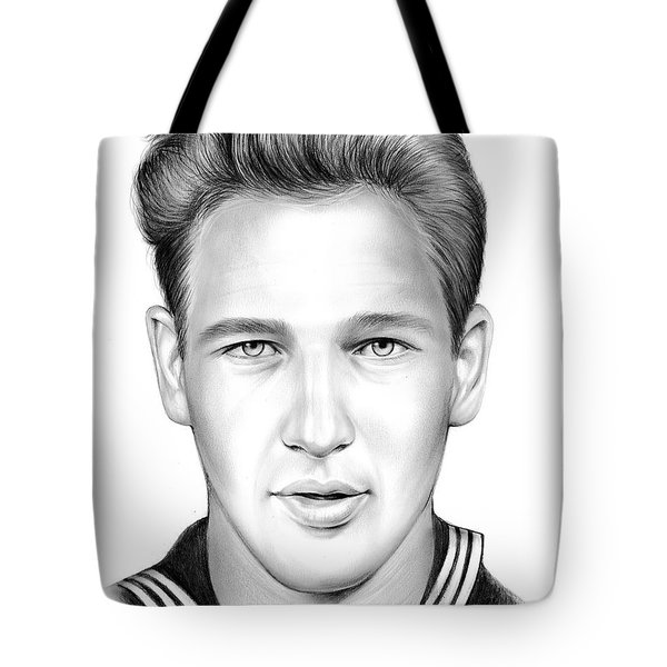 Paul Newman Tote Bag