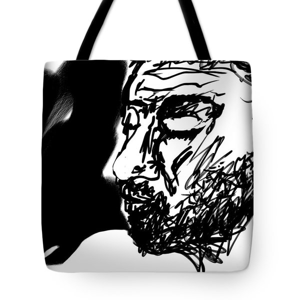 Paul Ramnora Self-portrait Tote Bag