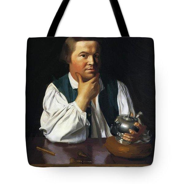 Paul Revere 1770 Tote Bag