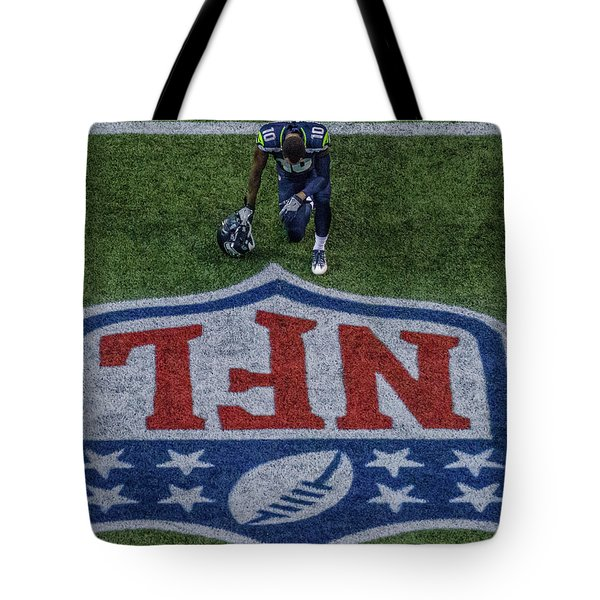 Paul Richarson Nfl Tote Bag