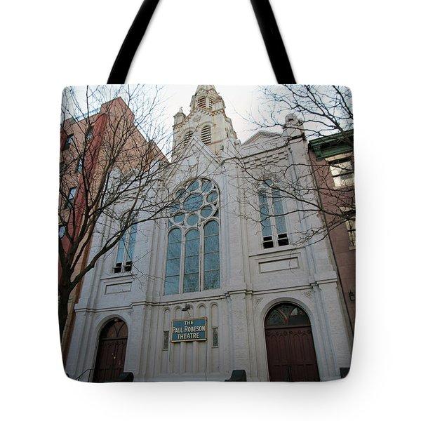 Paul Roberson Theatre  Tote Bag