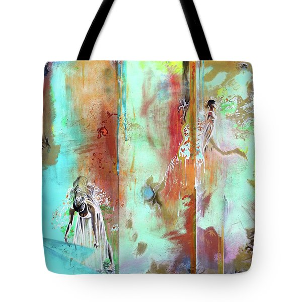 Pause In The Reconstruction Of Doubt  Tote Bag