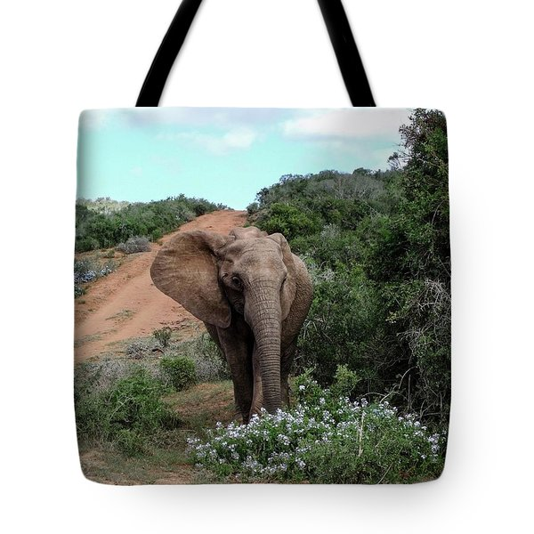 Pause To Smell The Flowers Tote Bag