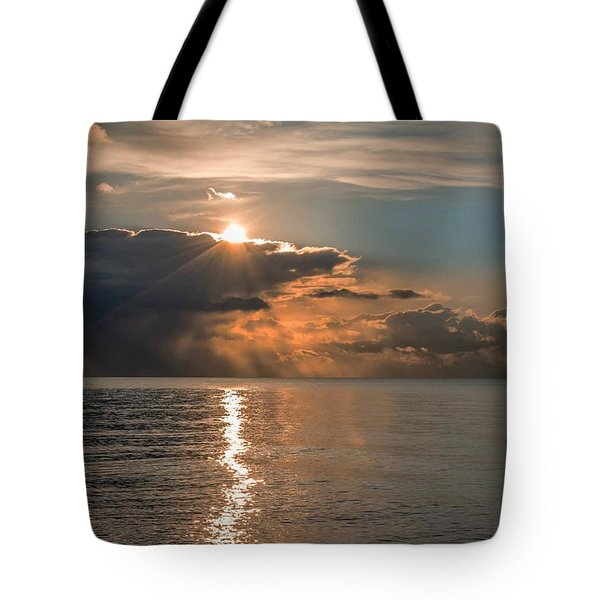 Paved In Gold Tote Bag