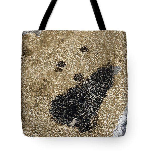 Tote Bag featuring the photograph Pavement Smoker by Lyric Lucas