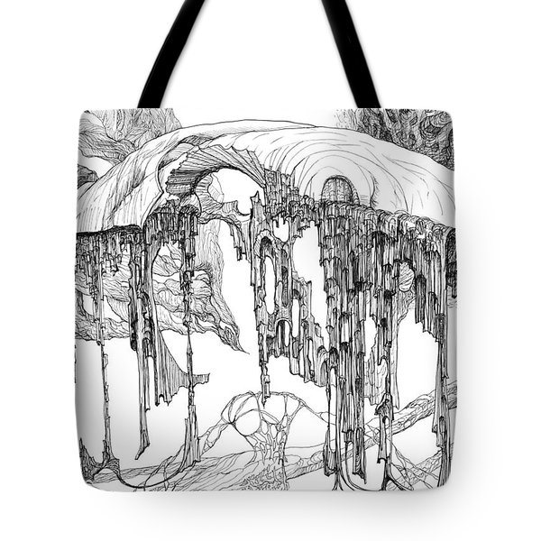 Pavilion Tote Bag by Charles Cater