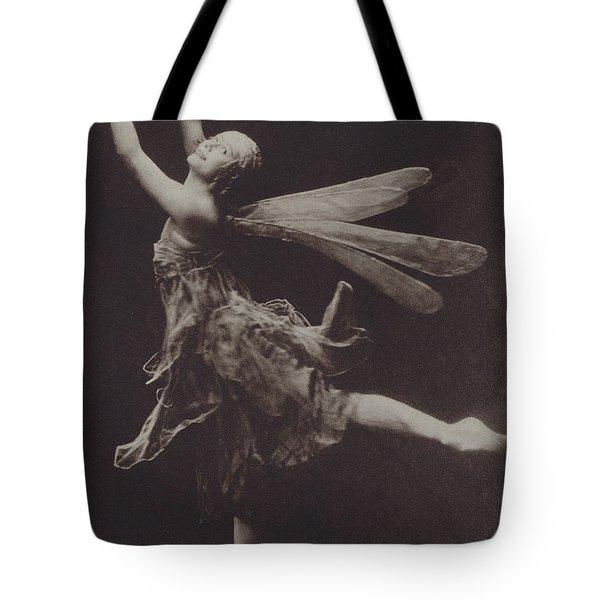 Pavlova In The Dragon Fly Tote Bag