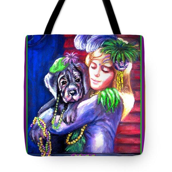 Pawdi Gras Tote Bag