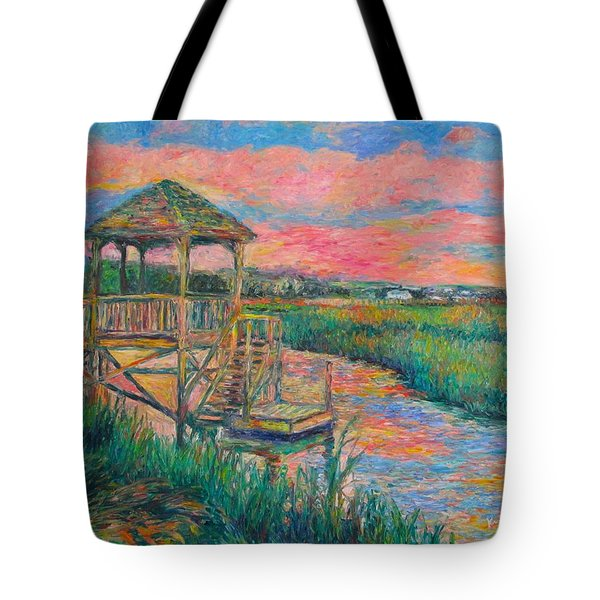 Pawleys Island Atmosphere Stage Two Tote Bag