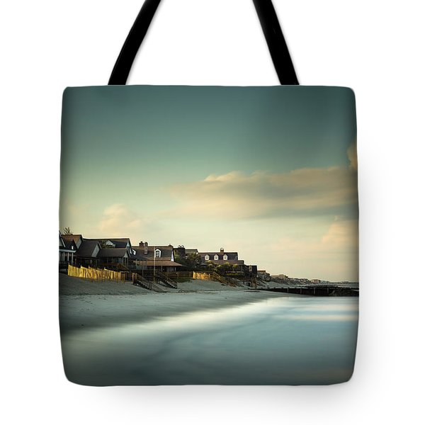 Pawleys Island, One Hour Till Sunset Tote Bag
