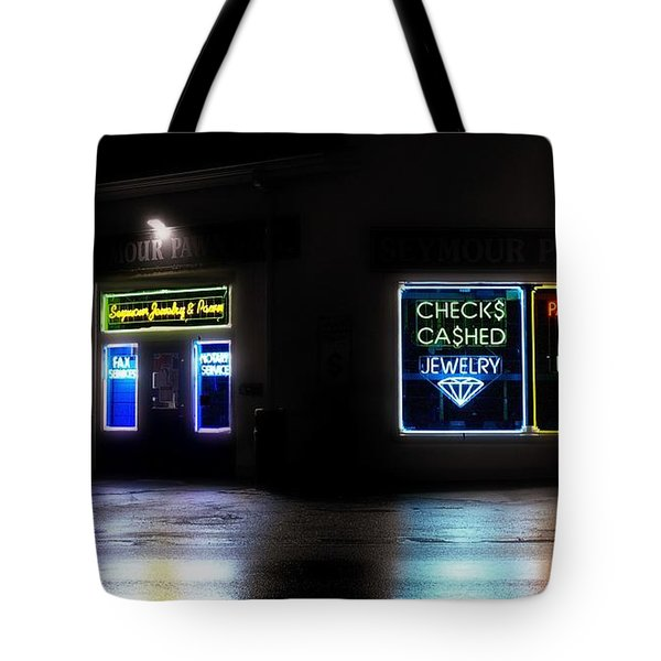 Tote Bag featuring the photograph Pawn by Raymond Earley