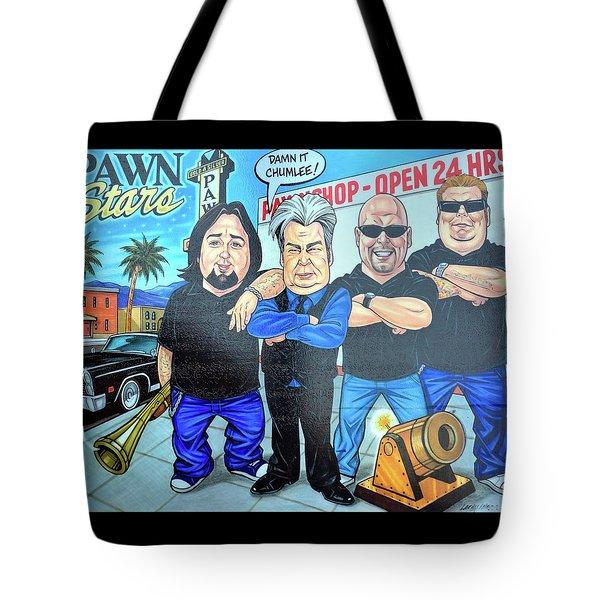 Pawn Stars In Las Vegas Tote Bag