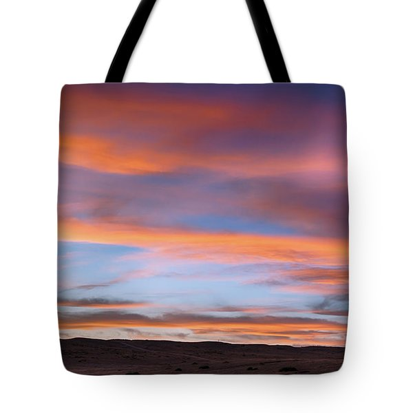 Tote Bag featuring the photograph Pawnee Sunset by Monte Stevens