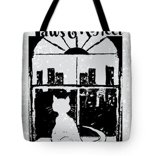 Paws And Reflect Tote Bag