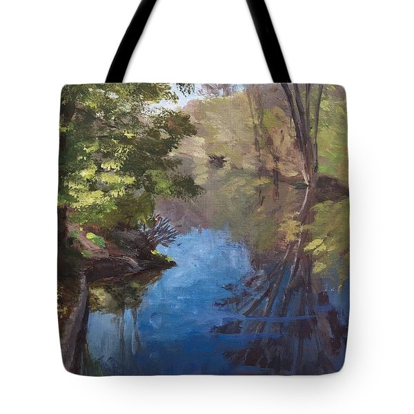 Pawtucket Canal Tote Bag