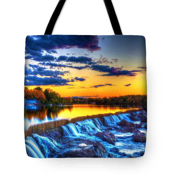 Pawtucket Falls 8354 Tote Bag
