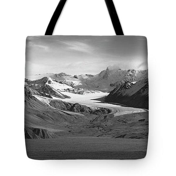 Paxson Glacier Wide Tote Bag
