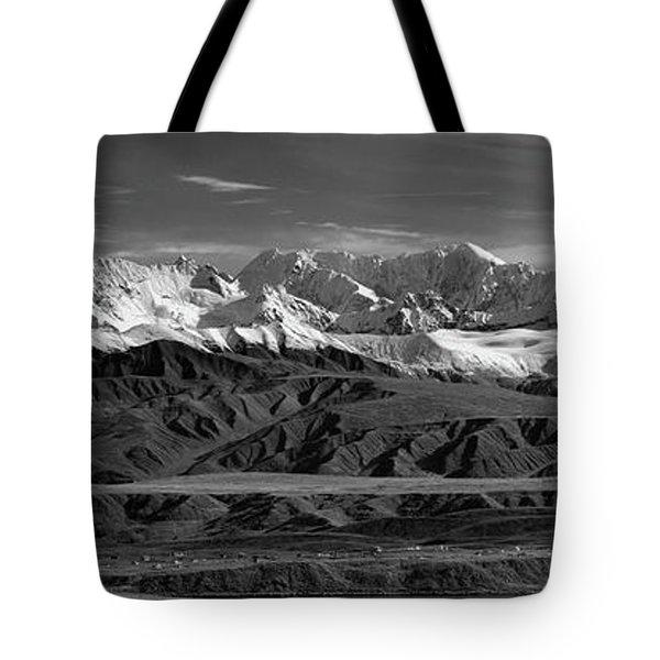 Paxson Lake Pano Tote Bag