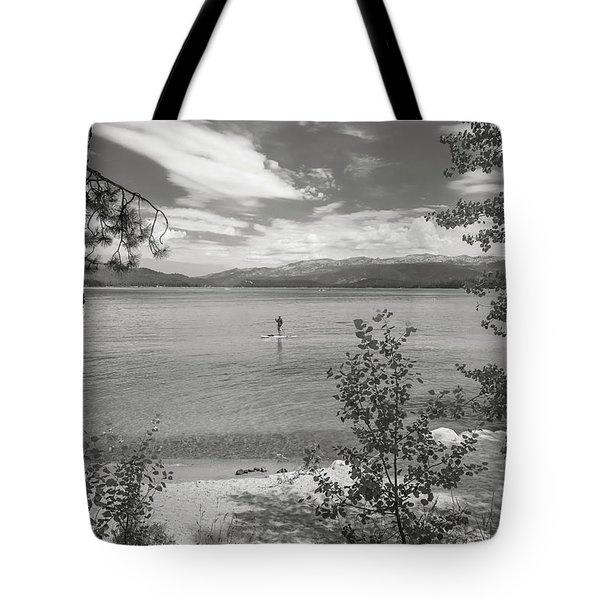 Payette Lake Boarder Tote Bag