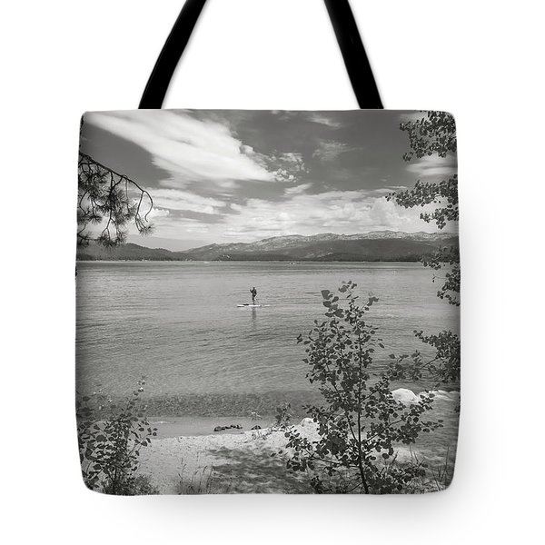 Payette Lake Boarder Tote Bag