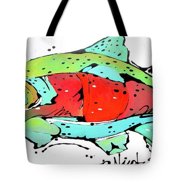 Payne The Salmon Tote Bag