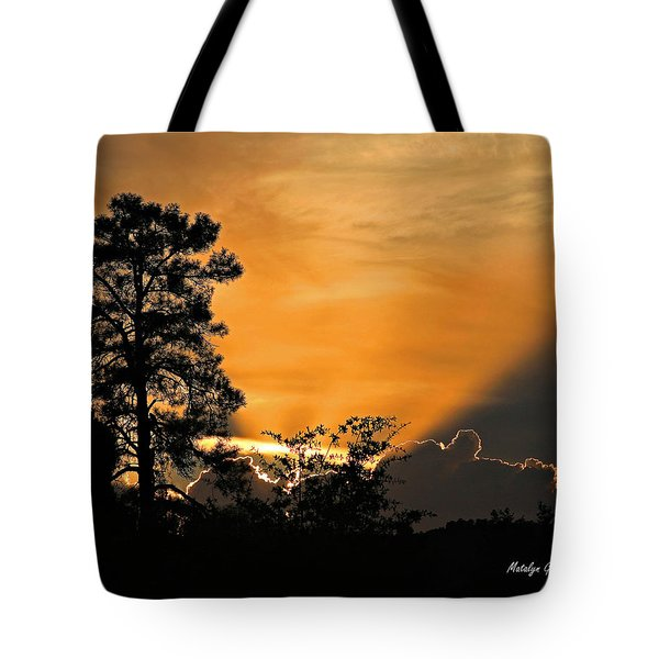 Payson Sunset Tote Bag
