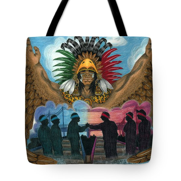 Paz Tote Bag by Roberto Valdes Sanchez