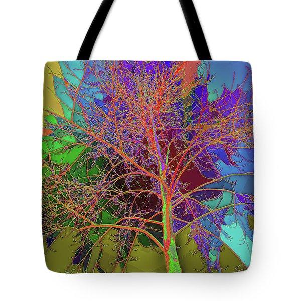 P C C Elm In The Wait Of Bloom Tote Bag
