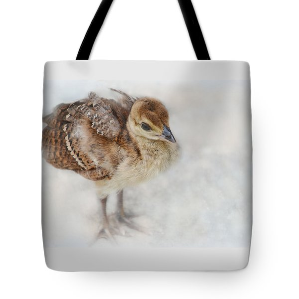 Pea Chick Cuteness Tote Bag